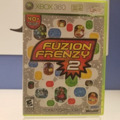 Fuzion Frenzy 2 Front Cover