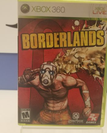 Borderlands Front Cover