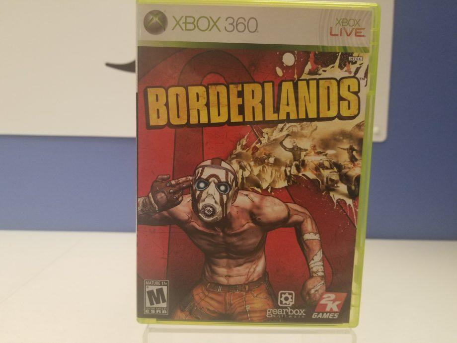 Borderlands Front Cover