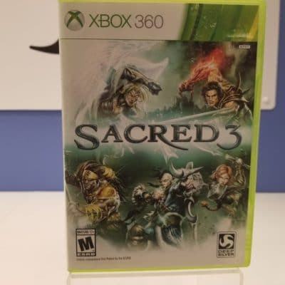 Sacred 3 Front Cover