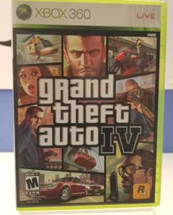 Grand Theft Auto IV Front Cover