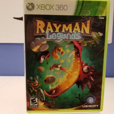 Rayman Legends Front Cover