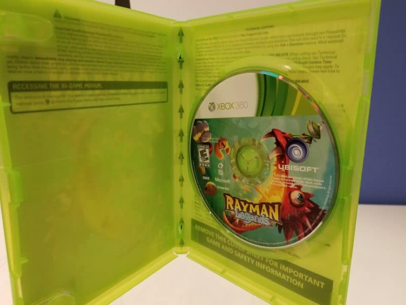 Rayman Legends Disc