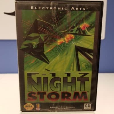 F-117 Night Storm Front Cover