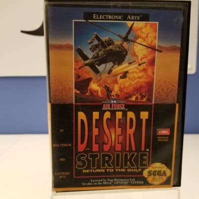 Desert Strike Front Cover