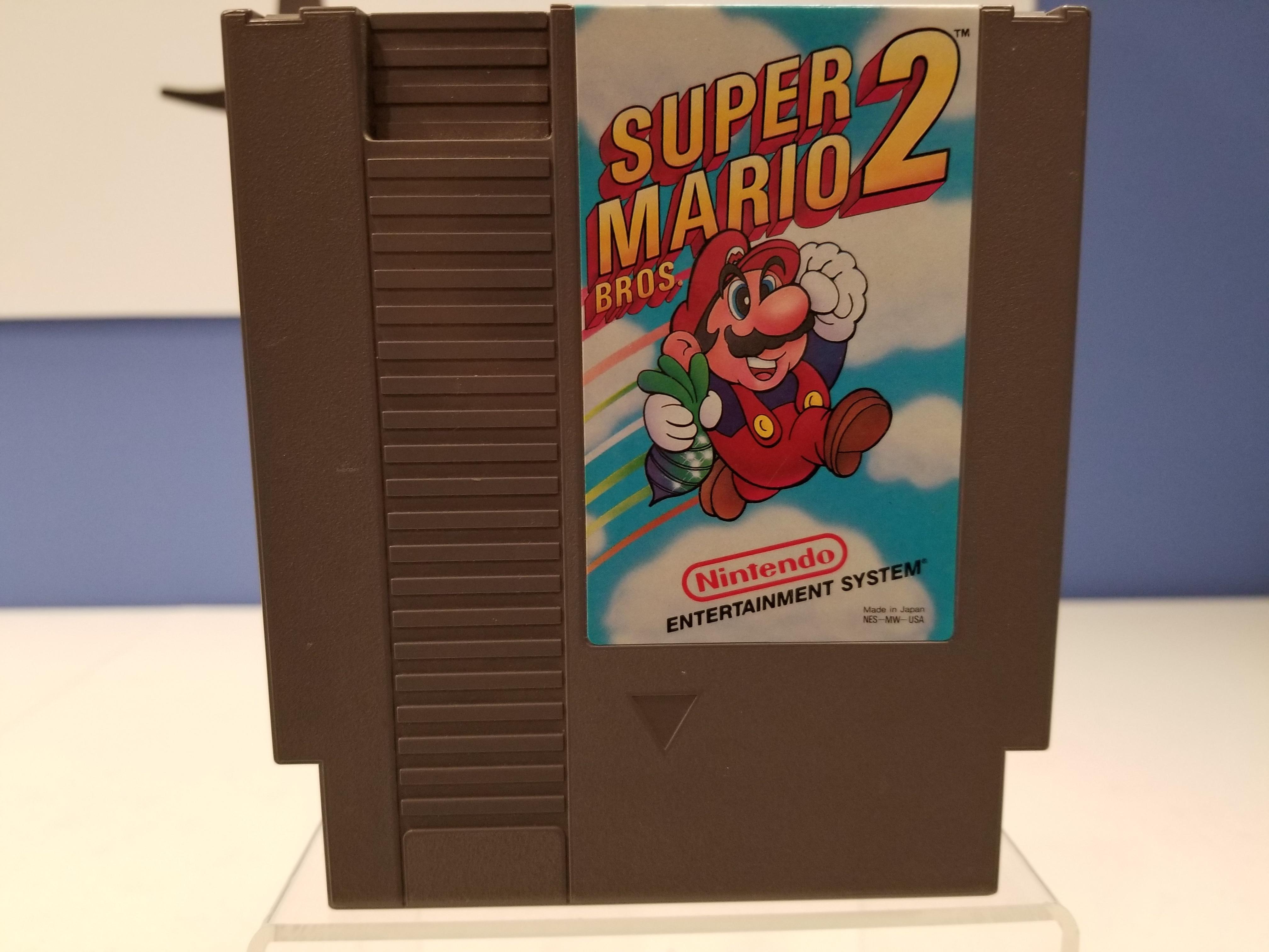 NES: Super Mario Bros 2