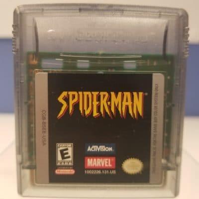 Game Boy Spider Man Front
