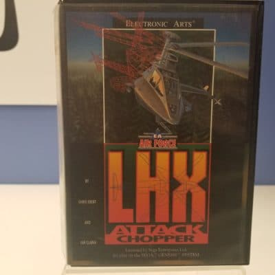 LHX Attack Chopper Front Cover