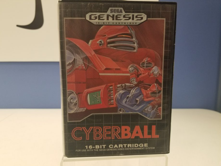 Cyberball Front Cover