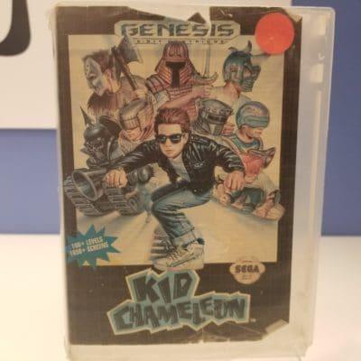 Kid Chameleon Front Cover