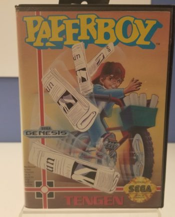 Paperboy Front Cover