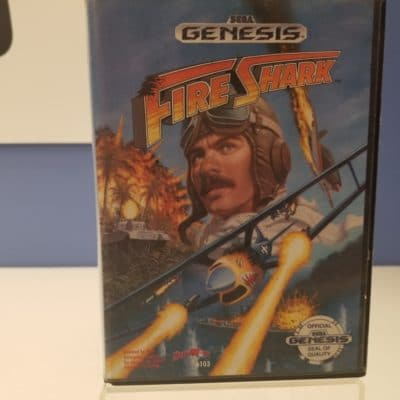 Fire Shark Front Cover