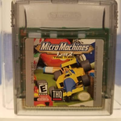 Micro Machines 1 and 2 Twin Turbo Front Cover