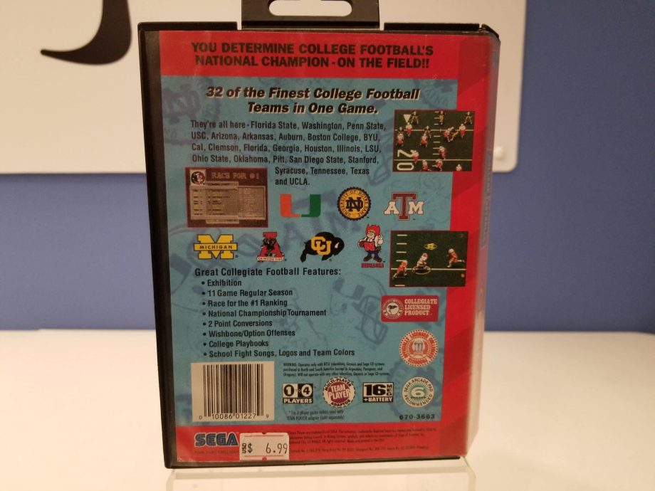 College Football's National Championship Back Cover