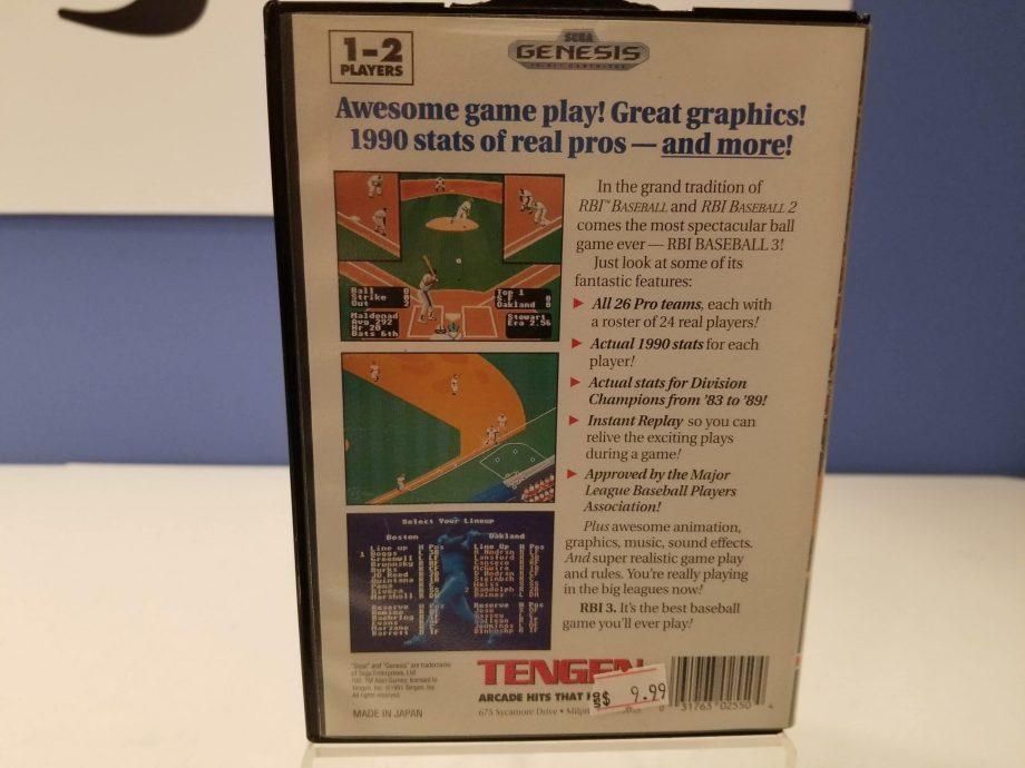 BRI Baseball 3 Back Cover