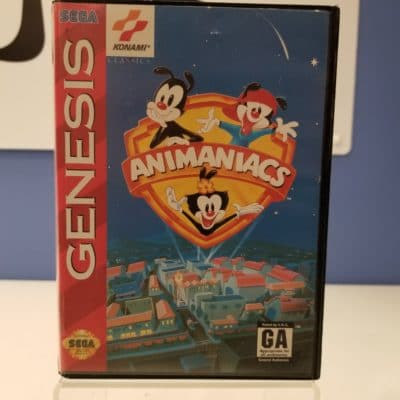 Animaniacs Front Cover