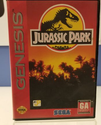 Jurassic Park Front Cover