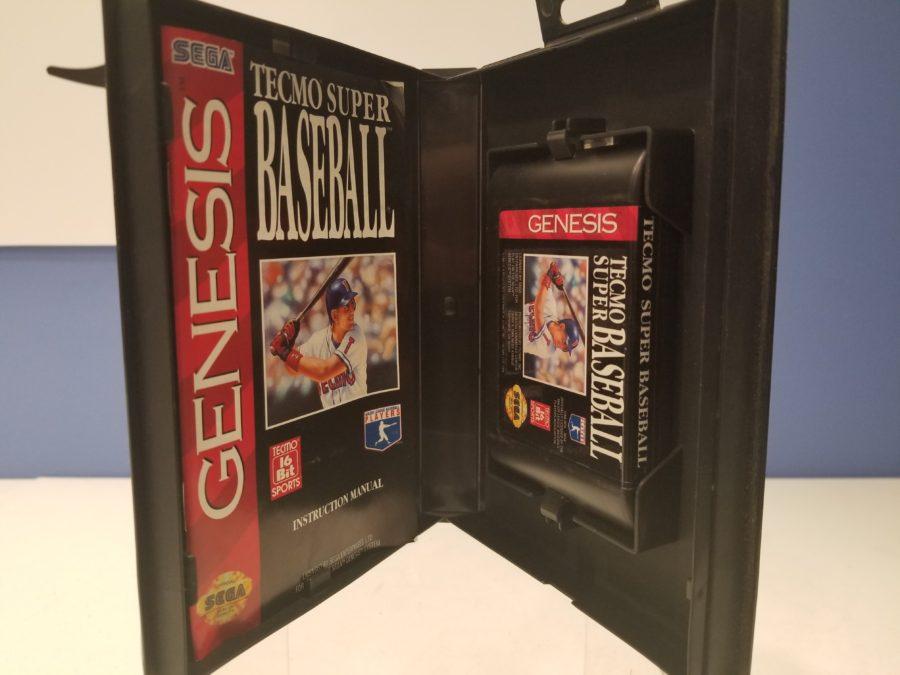 Tecmo Super Baseball Cartridge
