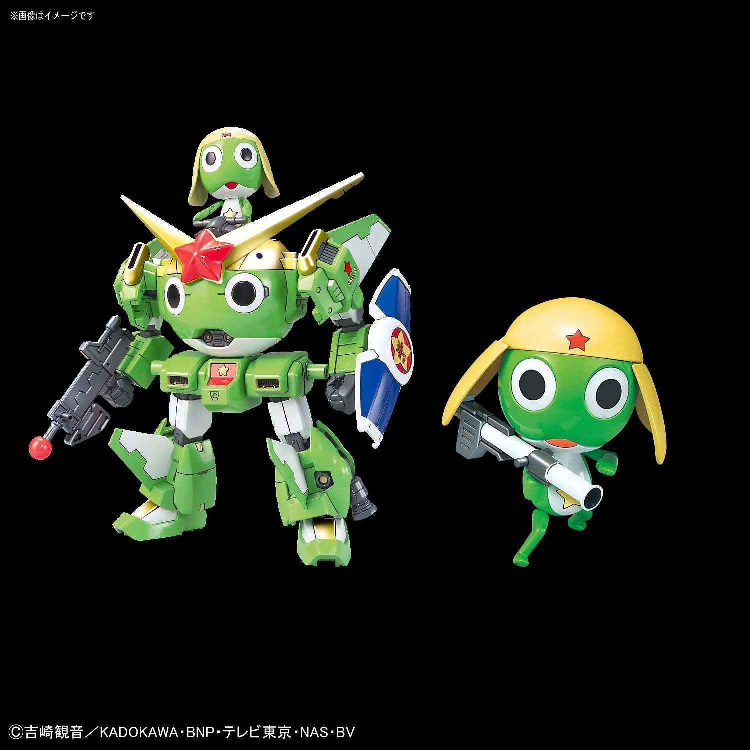 Keroro Gunso and Kerororobo Mk-II Anniversary Special Version Pose 2
