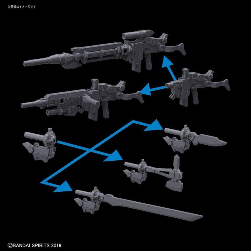 Alto Option Weapon Set