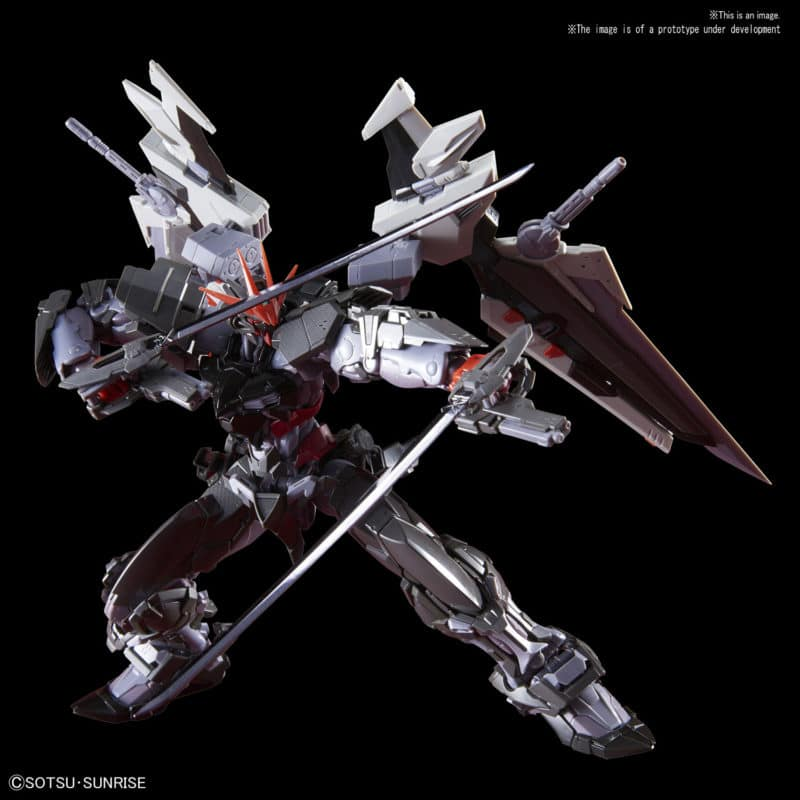 Gundam Astray Noir Pose 2