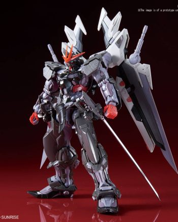 Gundam Astray Noir Pose 1