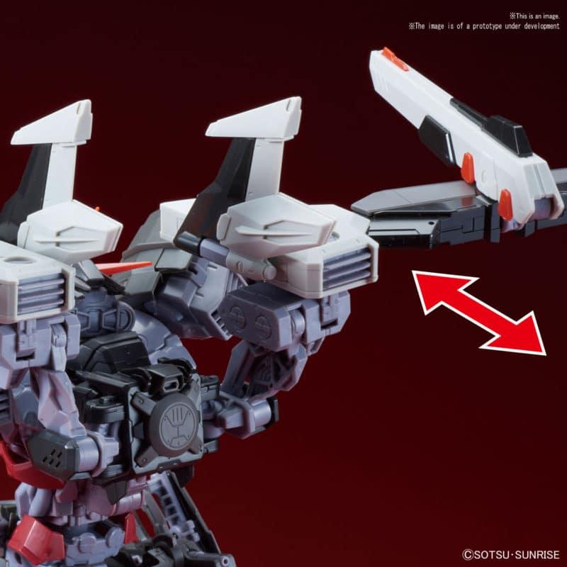Gundam Astray Noir Pose 5
