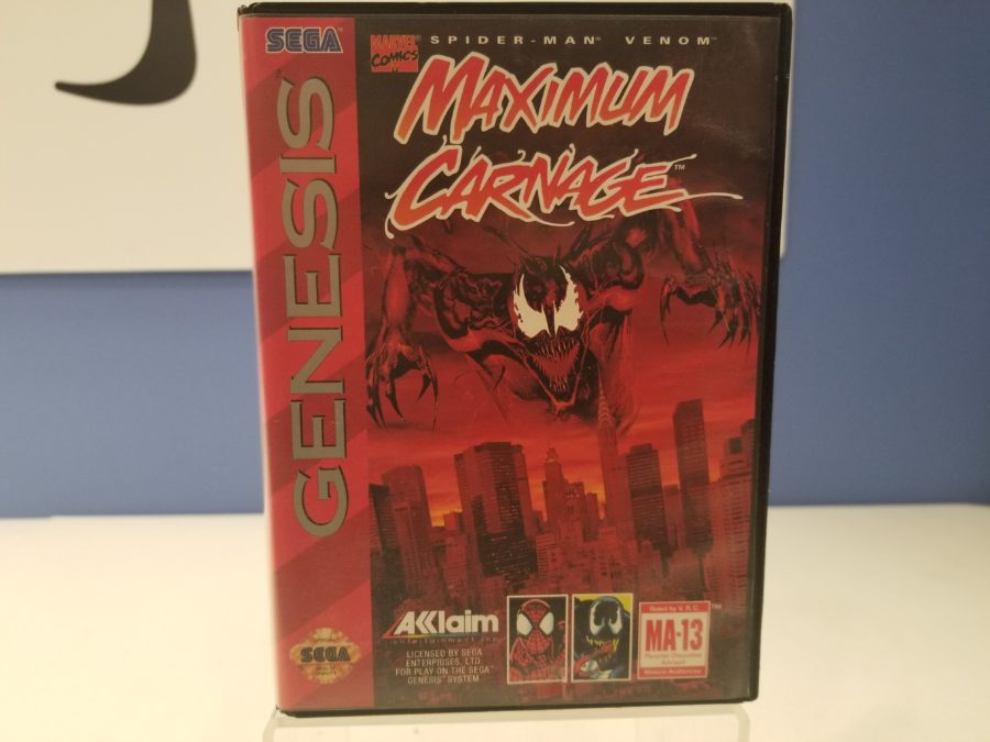 Maximun Carnage Front Cover