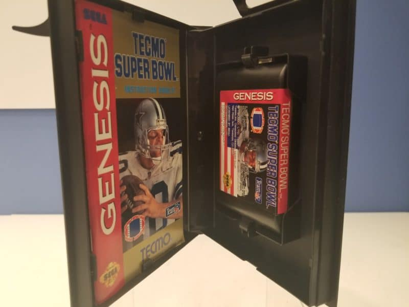 Tecmo Super Bowl Cartridge