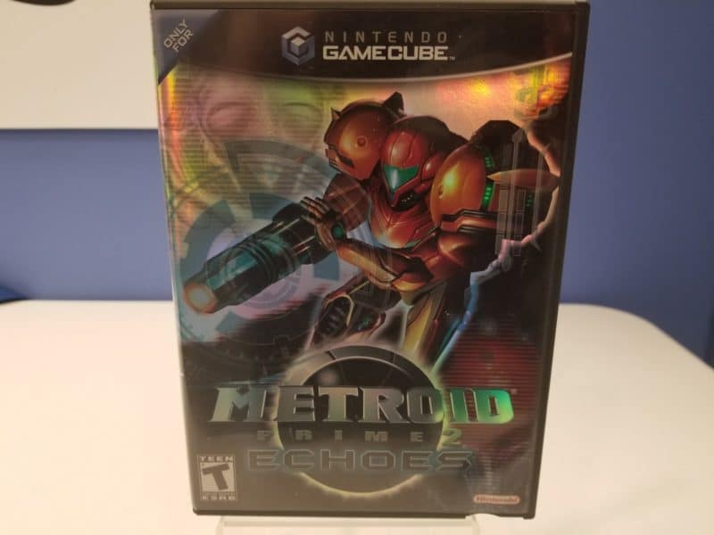 Metroid Prime 2 Echoes Front Cover
