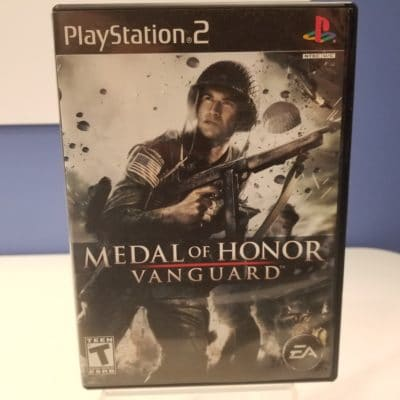 Medal of Honor Vanguard Front Cover
