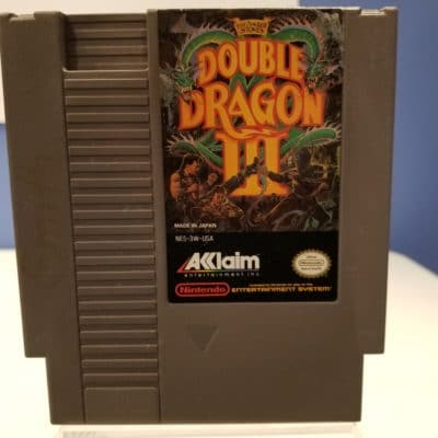 Double Dragon III Front