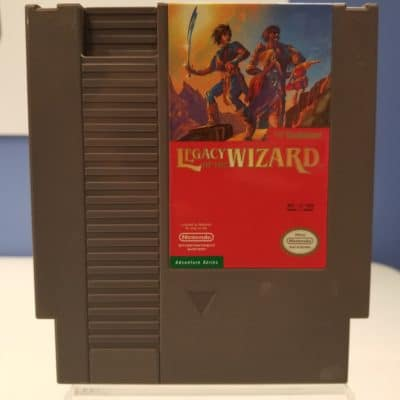 Legacy of the Wizard Front