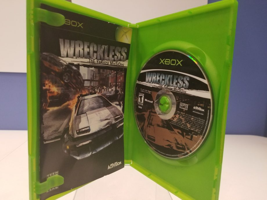 Wreckless The Yakuza Missions Disc