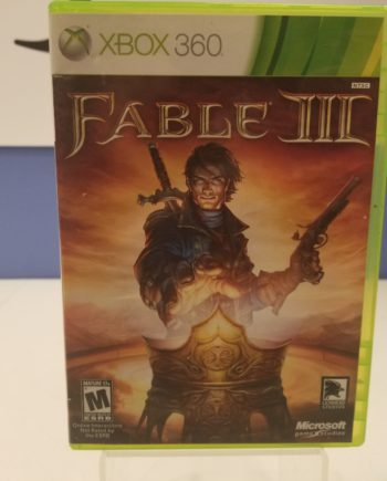 Fable III Front