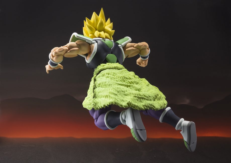 Broly S.H. Figuarts Pose 6