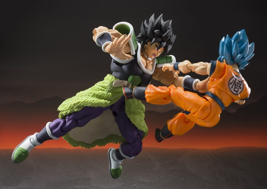 Broly S.H. Figuarts Pose 4