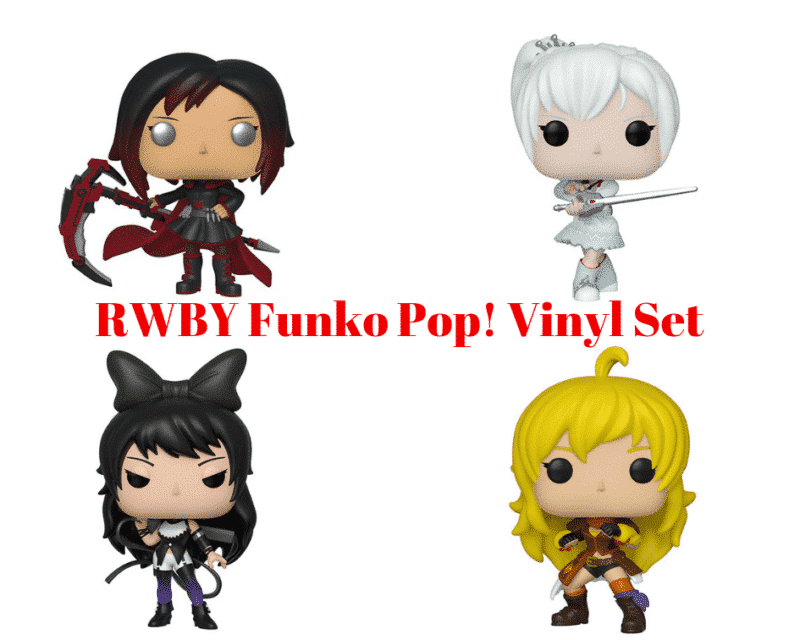 RWBY Pop Vinyl Figure Set