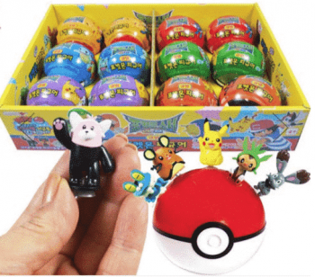 Pokeball Coin Bank and Figure