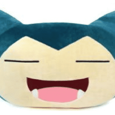 Smiling Snorlax Cushion
