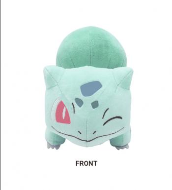 Pokemon Winking Bulbasaur Plushie Front