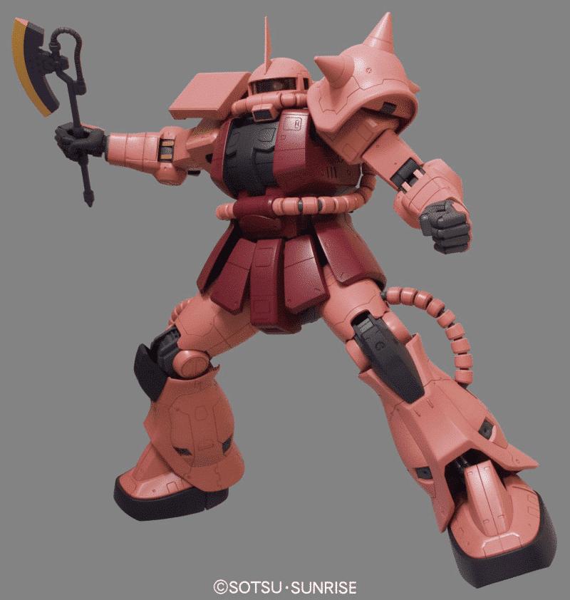 Mega Size MS 06S Zaku II Pose 3