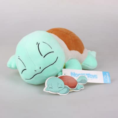 Sleeping Squirtle Plushie Pose 1