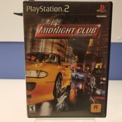 Midnight Club Street Racing Front