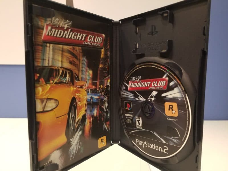 Midnight Club Street Racing Disc
