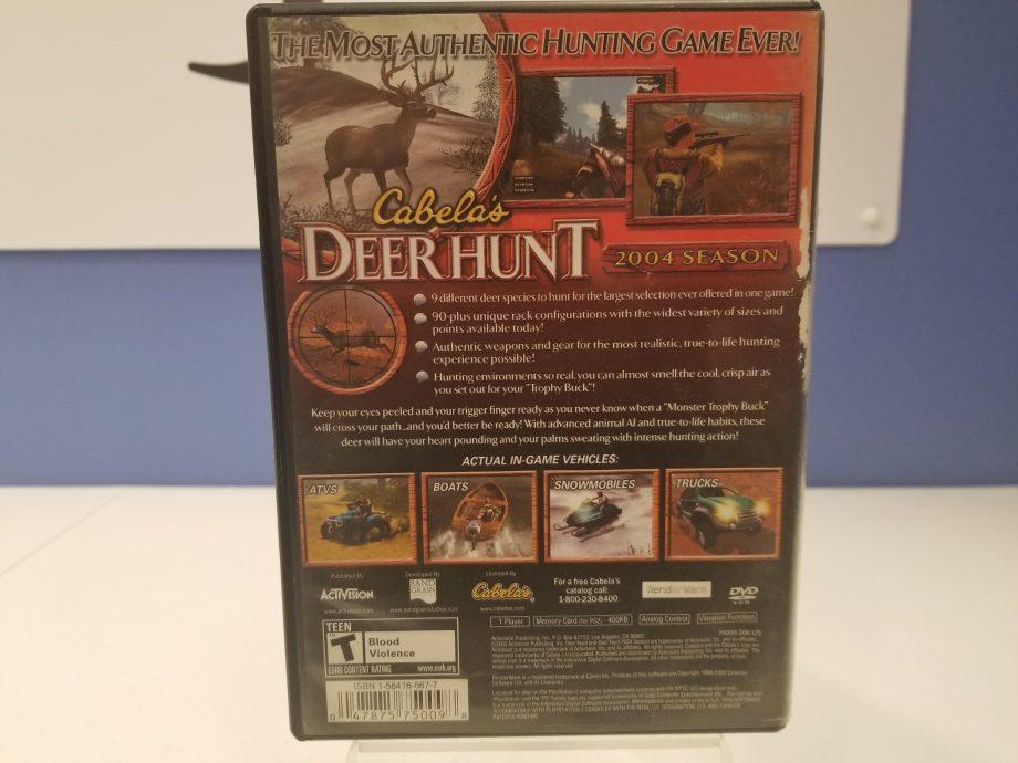 Cabelas Deer Hunt 2004 Back