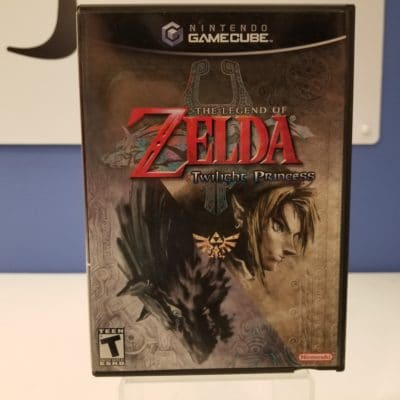 The Legend of Zelda Twilight Princess Front