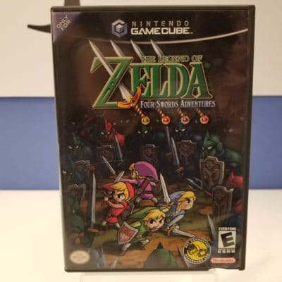 The Legend of Zelda Four Swords Adventures Front