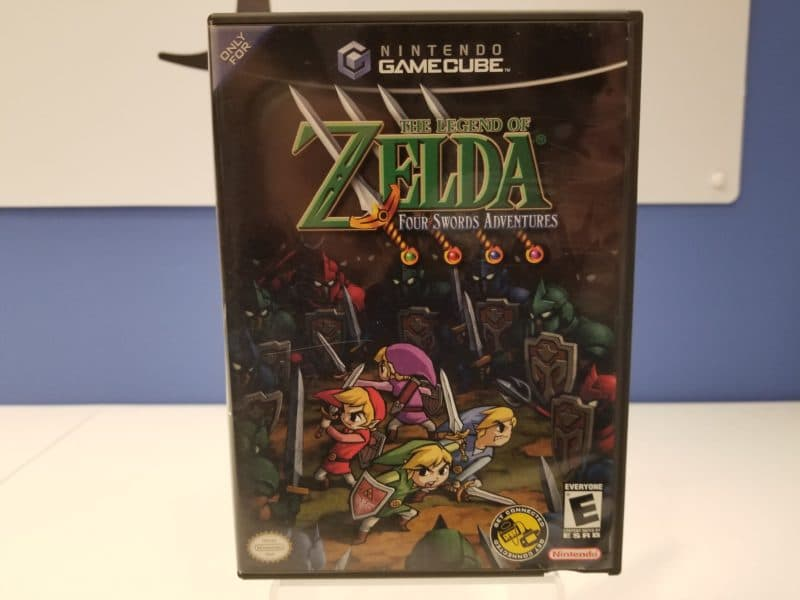 The Legend of Zelda Four Swords Adventures Front