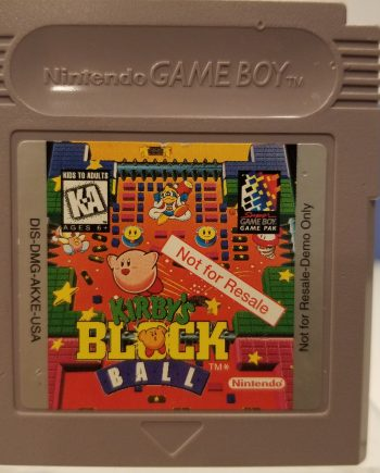 Kirbys Block Ball Front